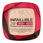 Base de Maquillaje en Polvo Infallible 24h Fresh Wear L'Oreal Make Up 20 (9 g) 0