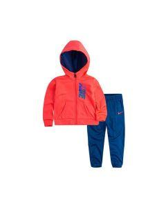 Chándal Infantil Nike 408S-U72 Rosa 0