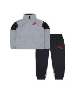 Chándal Infantil Nike 627S-174 Gris Negro (Talla 2-3 años)