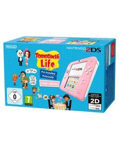 Nintendo 2DS HW + Tomodachi Life Nintendo Rosa 0
