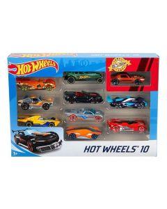 Playset de Vehículos Hot Wheels Metal (10 Pcs) 0