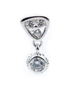 Pendientes Mujer GC Watches CC306E80 (1,5 CM)