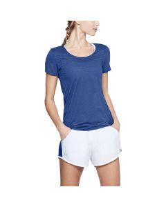 Camiseta de Manga Corta Mujer Under Armour 1271517-574 Azul 0