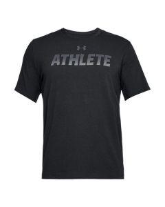 Camiseta de Manga Corta Hombre Under Armour 1305661-001 Negro 0