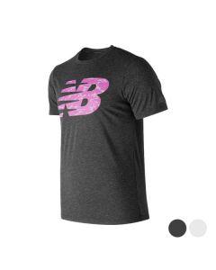 Camiseta de Manga Corta Hombre New Balance NB Fill 0