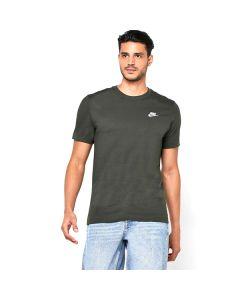 Camiseta de Manga Corta Hombre Nike NSW CLUB TEE Verde 0