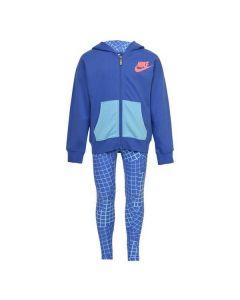 Chándal para Bebé Nike 923-B9A Azul (12 Meses)