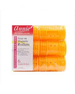 Rulos Annie Jumbo Naranja (6 uds) 0