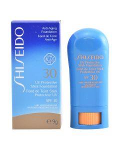 Maquillaje en Barra Uv Protective Shiseido Spf 30 (9 g) 0