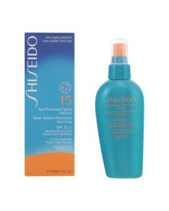 Spray Protector Solar Oil-Free Shiseido SPF 15 (150 ml) 0
