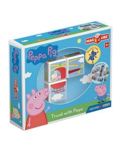 Juego de Construcción Geomag Magicube Peppa Pig (3 pcs) 0