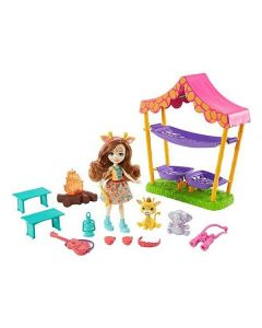 Playset Enchantimals Mattel Savanna Sleepover 0