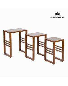 Conjunto de 3 mesas nido - Colección Serious Line by Craftenwood 0