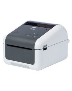 Impresora Térmica Brother TD4420DN 203 dpi LAN USB 2.0 Gris Blanco 0