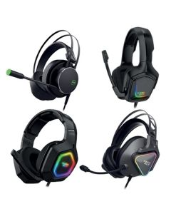 Auricular con Micrófono Gaming KEEP OUT HX-AVENGERKK 7.1 LED RGB Negro 0
