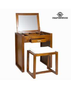 Mueble neceser con banqueta - Colección Let's Deco by Craftenwood 0