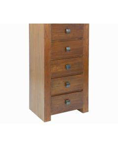 Chifonier - Colección Nogal Nature (120 x 58 x 42 cm) madera de mindi 0