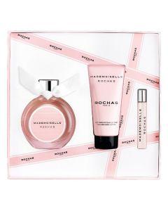 Set de Perfume Mujer Mademoiselle Rochas Rochas EDP (3 pcs) (3 pcs) 0