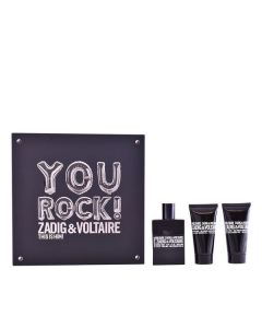 Set de Perfume Hombre This Is Him! You Rock! Zadig & Voltaire (3 pcs) 0