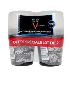 Desodorante Roll-On Vichy 00657 (50 ml x 2) Antitranspirante 0