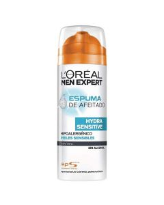 Espuma de Afeitar Men Expert Hydra Sensitive L'Oreal Make Up (200 ml) 0