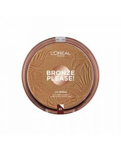 Polvos Compactos L'Oreal Make Up Bronze Please 0