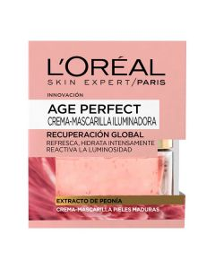 Mascarilla Iluminadora Age Perfect L'Oreal Make Up (50 ml) 0