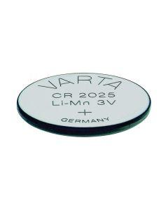 Pila de Botón de Litio Varta CR-2025 3 V Plata 0