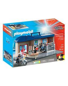 Playset City Action Police Station Playmobil 5689 (69 pcs) 0