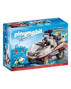 Coche Anfibio City Action Playmobil 9364 (11 pcs) 0