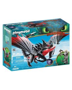 Playset Dragons - Grimmel's Deathgrippers Playmobil 70039 (11 pcs) 0