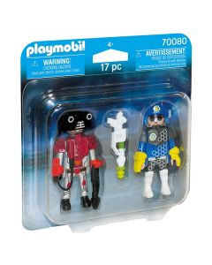 Muñecos City Action Space Police And Thief Playmobil 70080 (17 pcs) 0