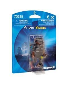 Muñeco de Acción Special Forces Agent Playmo-friends Playmobil 70238 (6 pcs) 0