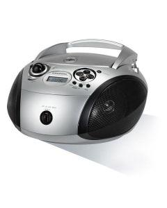 Radio CD MP3 Grundig RCD 1445 USB 2.0 Plateado 0