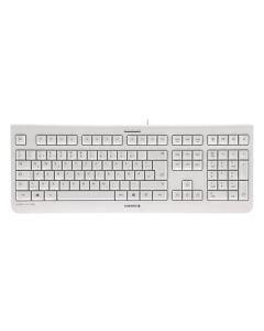 Teclado Francés Cherry JK-0800FR-0 USB AZERTY Blanco 0