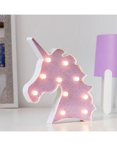 Unicornio Luminoso Glitter (10 LED) 0