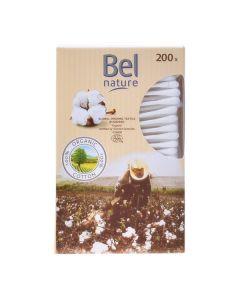 Bastoncillos de Algodón Nature Bel (200 uds) 0