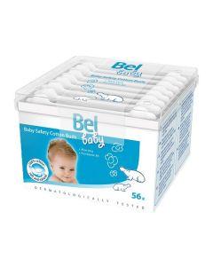 Bastoncillos de Seguridad de Algodón Baby Bel (56 uds) 0