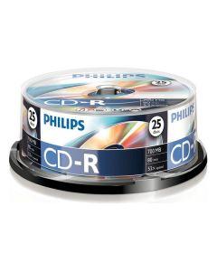 CD-R Philips Rohlinge 700 MB Data/ 80 Min (52 pcs) (Reacondicionado A) 0
