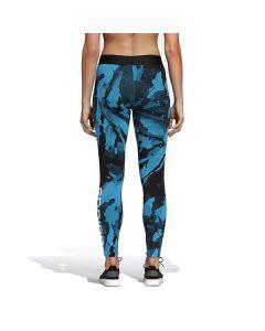Mallas Deportivas de Mujer Adidas W E AOP TIGHT Camuflaje Azul 0