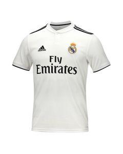 Camiseta de Fútbol de Manga Corta Hombre Adidas Real Madrid Blanco 18/19 (1ª) 0