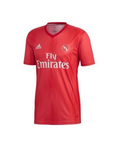 Camiseta de Fútbol de Manga Corta Hombre Adidas Real Madrid Rojo 18/19 (3ª) 0