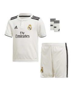Set Equipación de Fútbol para Niños Adidas Real Madrid Blanco 18/19 (1ª) (3 Pcs) 0