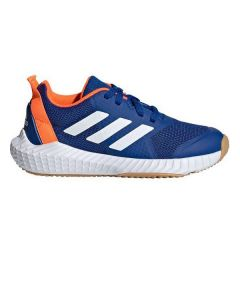 Zapatillas de Running para Niños Adidas FORTAGYM Azul marino Naranja 0