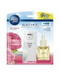Ambientador Eléctrico y Recambio Elegante Ambi Pur (21,5 ml) 0