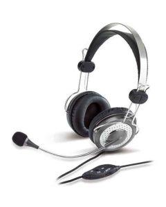 Auriculares con Micrófono Genius HS 04SU Negro 0
