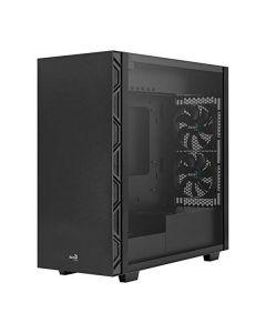 Caja Semitorre Micro ATX / Mini ITX / ATX Aerocool Flo BK USB 3.2 Negro 0