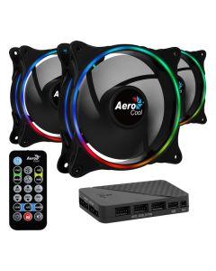Ventilador Aerocool Eclipse 12 Pro Ø 12 cm RGB (3 pcs)