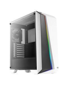 Caja Semitorre ATX Aerocool CYLONPROWG RGB USB 3.0 Blanco