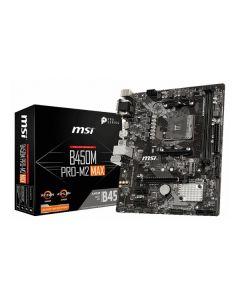 Placa Base MSI B450M PRO-M2 Max mATX DDR4 AM4 0
